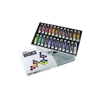 Set acrilici Basics 24 x 22 ml - Liquitex